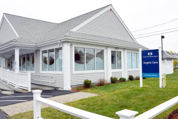 Falmouth Urgent Care Facility - Exterior